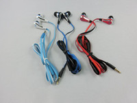 Wholesale DHL Fast Shipping Mini Cent SMS Street In earphone Wired Earphone with Mute Button with Mic Mini Cent Earphone