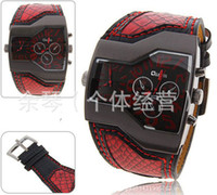 Wholesale colors classic fashion quartz mens watch luxury watches leather watch band