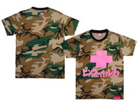 Men Cotton Round fashion Tshirts Camouflage Pink dolphin t shirts Camouflage coke boys Trukfit T shirt Camouflage Tee customs Tshirts Tees