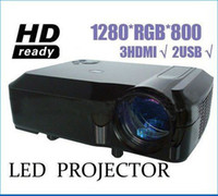 Wholesale home theater projector led W lumens for enjoy widescreen movie cheapest price