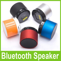 Wholesale Mini Speaker Portable Wireless Bluetooth SK S10 Music Player Music Angel Support Micro TF Card Multimedia Multi color High Quality Free DHL