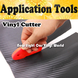 Very Useful Vinyl Car Wrap Tool Application Tool Carbon Fiber Vinyl Film Cutter For Car Wrapping 100 pcs Lot
