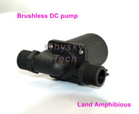 6-12Vdc(12Vdc advised) solar water pump system - Vdc Solar submersible pump Lift M Flow LPH Completely waterproof For car circulation system