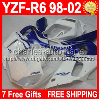 7gifts 100%NEW& HOT Blue flames For YAMAHA ! YZFR6 YZF R6...