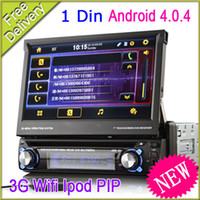 Wholesale One Din In Dash Car DVD PC Player GPS Multimedia A Android G Wifi Ipod Bluetooth TV