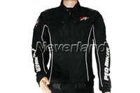 Wholesale Motorcycle Sport Racing Black Armor Jacket With Pads size M L XL XXL