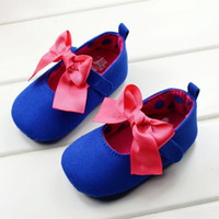 Wholesale pairs baby shoes princess baby girls shoes with stone mother care bowknot walking shoes pair