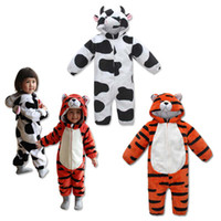Wholesale Baby One Piece Romper Boy And Girl Animal Modelling Jumpsuits Kids Climb Clothes Fashion Long Sleeve Jumpsuit Rompers One Piece Clothing