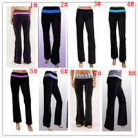 Wholesale 2013 New lullullemon Yoga Groove Pants Yoga Groove Pants Fitness Exercise Groove Pants Yoga Brand quick dry