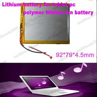 other li polymer battery 3.7v - 3 V mAH Li ion Polymer lithiumion battery for inch tablet PC ICOO D70pro II Onda Sanei mm MYY4850