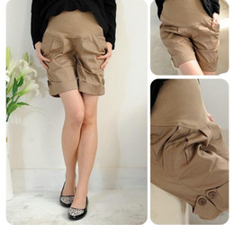 Wholesale Korean Summer Pregnant Pants Casual loose fitting Maternity Pants Shorts one piece