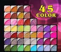 Wholesale Acrylic Nail Care Powder Tips Art Decoration Color UV Gel Glitter Shiny Dust D