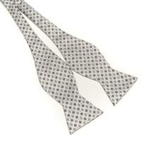 Grid self tie bow ties - SELF TIE BOW TIE COLOR