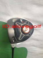 Wholesale 2013 New left hand golf clubs cc V1 TM R1 golf driver adjust to degree with RIP phenom g stiff shaft