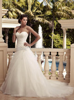 drop waist - 2013 New Arrival Sweetheart Backless Dropped Waist Ruffles Beaded Applique Sexy Wedding Dresses Gown