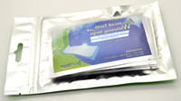 Wholesale Teeth Whitening Strips Non Peroxide Gel Mint Flavor Double Elastic Gel Strips pc per bag