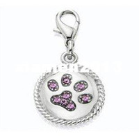 Wholesale MOQ Fashion Pet charm dog charm Pet Accessory pendant from factory