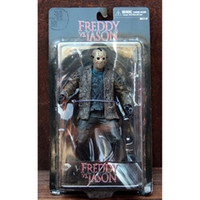 Wholesale Freddy vs Jason cm PVC Action Figure New In Box Collection Model Figures