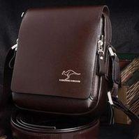 Compra Borse per gli uomini-Moda coreano uomini di affari della borsa casual valigetta PU borse a tracolla Borsa a tracolla nero, marrone, S, M, L, Dimensioni t5517
