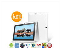 Wholesale inch Allwinner A13 Android Tablet PC MB GB Flash Wifi Camera Google Play Store G