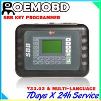 Wholesale 2014 Silca Immbolizer SBB V33 Key Programmer Languages For Multi Brands Car Auto Key Maker Newest Version V33 SBB Key Pro Locksmith