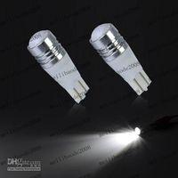 Wholesale 50pcs New W DC12V V T10 Car Light Reverse Light Backup Lights Bulb Lamp Cree Q5 White MGX186