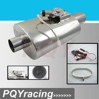 Wholesale 3 quot Stainless Steel electronic cutout muffler with Remote control