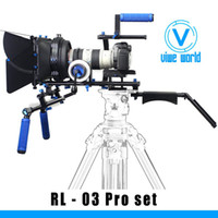 Wholesale DSLR Rig Rigs Video Shoulder Camera Mount Support System Stabilizer Follow focus RL SET