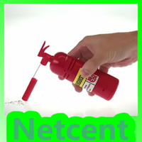 Wholesale Table Desktop MINI Dust Vacuum Cleaner Fire Extinguisher Shape Debris Clean