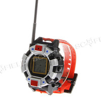 Wholesale Digital Watches Walkie Talkie Toys for Kids one pair Interphone Toy with Antenna