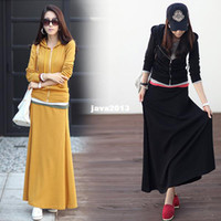 other other Cotton New arrival 2013 new casual fashion hip slim high street vintage cotton hoodies sweat long dress suit for women (2pcs)