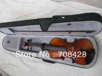 Wholesale handmade high quality violin for professional player free hardcase