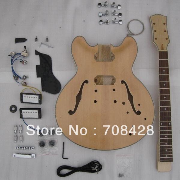 Archtop Jazz Guitar Kit Diy Guitar Kits Quality Jazz