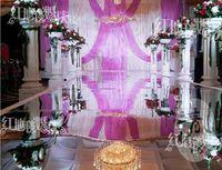 decoration - Wedding Decoration meter wide Mirror Carpet Wedding Carpet Wedding Carpet Runner m