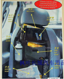 Wholesale 10 piece Car Multi Seat Pocket Storage Organizer Arrangement Bag of Back seat of chair