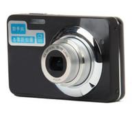 HDC-570 2.7quot; TFT LCD Câmera Digital HD Max 12MP HD Camera Zoom óptico de 5X 9.0MP CMOS Prata + Preto