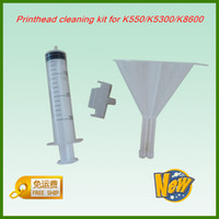 Wholesale for HP Printer Head Printhead Cleaning Kit Tool K550 K5300 L7380 K5400 K8600 Printer Parts