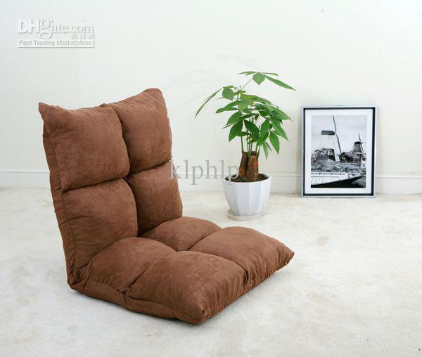 Floor Seating Furniture Folding Lazy Chair Fabric Four Colors Available Leisure Modern
