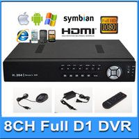 Wholesale 8CH Standalone CCTV DVR Full D1 H Super DVR SDVR HVR NVR Security System P HDMI Output Security DVR