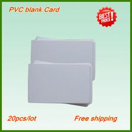 Frete Grátis Varejo 100pcs cartão de PVC em branco Cartão de identificação em branco de qualidade super, Pvc cartão de jato de tinta em branco para EpsonCanon Inkjet PVC / bandeja de cartão de impressão da impressora