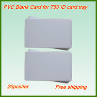 Wholesale Retail Blank PVC Card Super Quality Blank ID Card Pvc Blank Inkjet Card For Epson Canon Inkjet PVC ID Card Tray Printer Parts