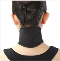 Cheap Free shipping New 60 pcs Tourmaline Self Heating Magnetic Therapy Neck Wrap Belt Neck Self Heat Brace Neck Support