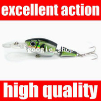 Single 0 Nylon RN 75 09 75mm 6g Fishing Lures Minnow Crankbaits Tackle Hooks Crank Bait Pike free shipping soft lures for fishing