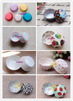 Wholesale Assorted Cupcake Muffin Cake Case Cup Baking Mould cm base