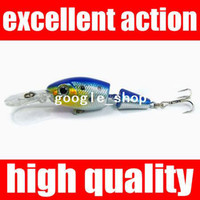 1_2 Person Tent Single 0 RN 75mm 6g Fishing Lures Minnow Crankbaits Tackle Hooks Crank Bait Pike free shipping soft lures for fishing