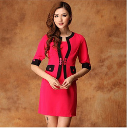 Wholesale New Fashion Ladies Suits Elegant All match women s casual jacket Dress Sleeve Summer S XXXL