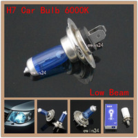 Blue 12V 100W H7 Xenon Low Beam Headlights white blue tint B...