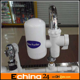 Wholesale Home Water filter Simple Easy Faucet Tap Water Clean Filter Purifier PP Kitchen Cleaner Detail Pack Environmental