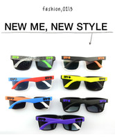 Wholesale 2014 COLORS SPY KEN BLOCK HELM Cycling Sports Sunglasses Outdoor Sun glasses Dazzling color