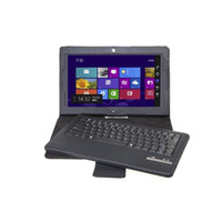 Wholesale Removable Bluetooth Keyboard Leather Stand Case Cover For Lenovo Thinkpad Tablet Inch Tablet PC